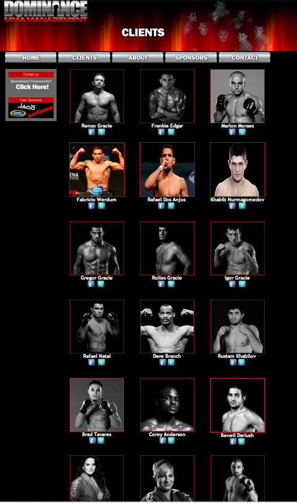 Dominance MMA Management