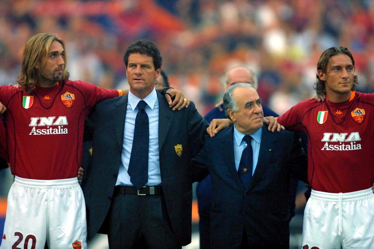 Where Are They Now: Roma's 2001 Scudetto Team - Chiesa Di Totti