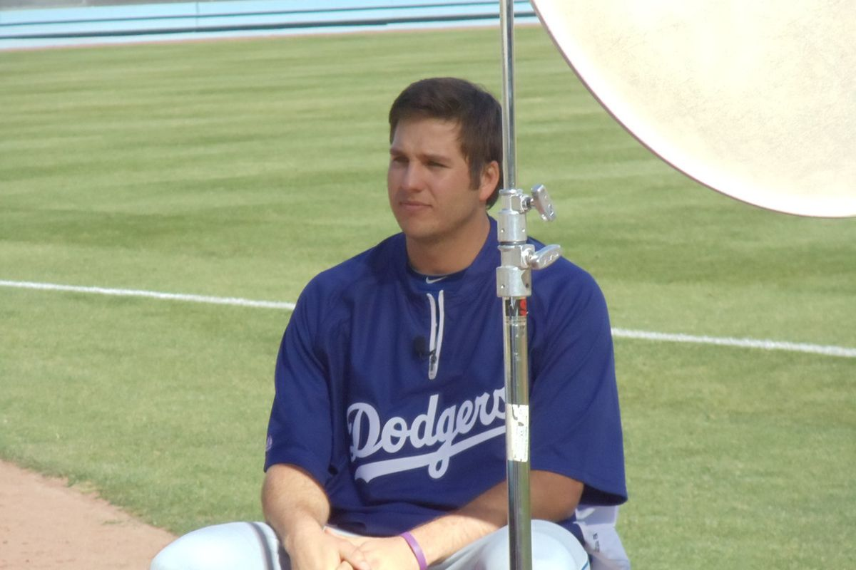 Shawn Tolleson during the Dodgers Winter Development Program this past January
