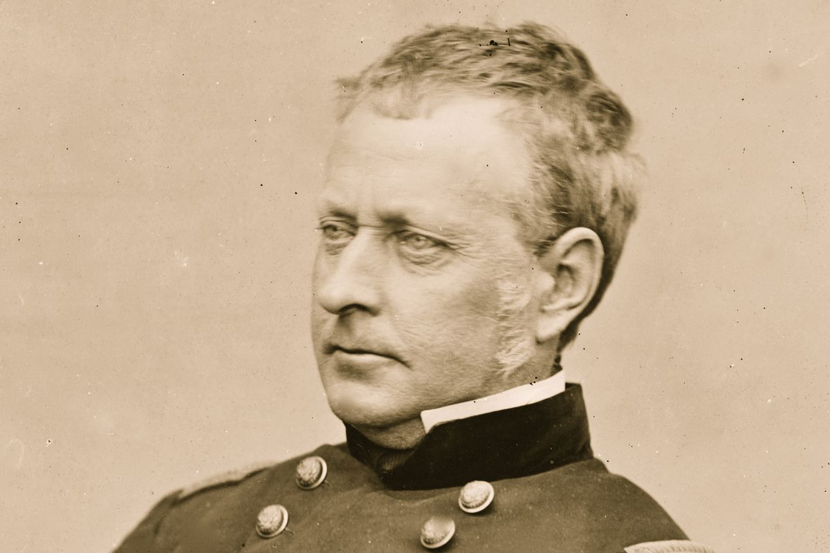 A portrait of General Hooker. (Buyenlarge/Getty Images)