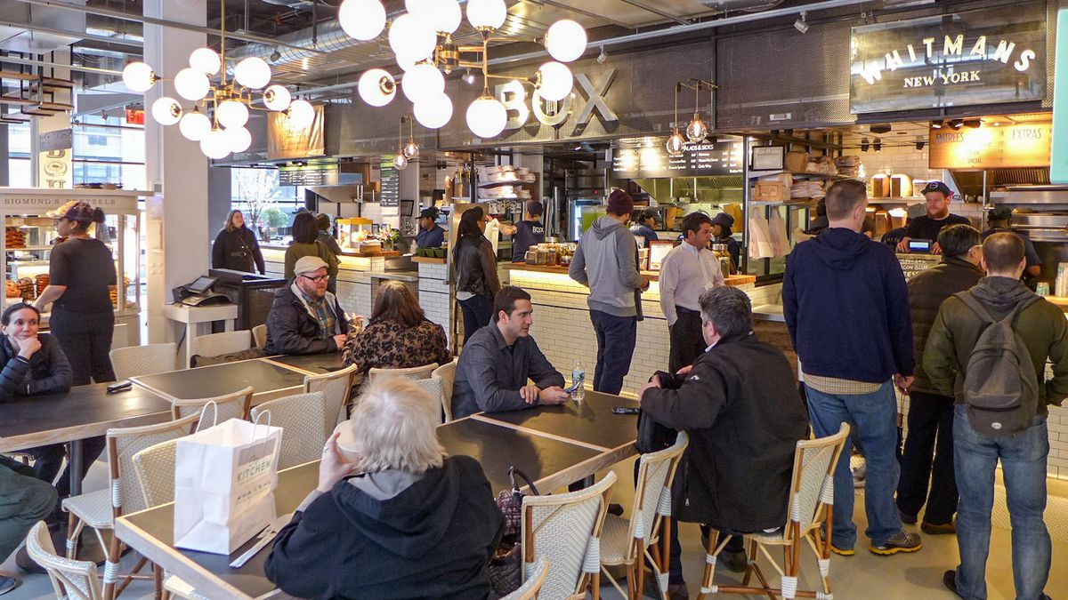 Blitzing Through City Kitchen Times Square S Newest Food