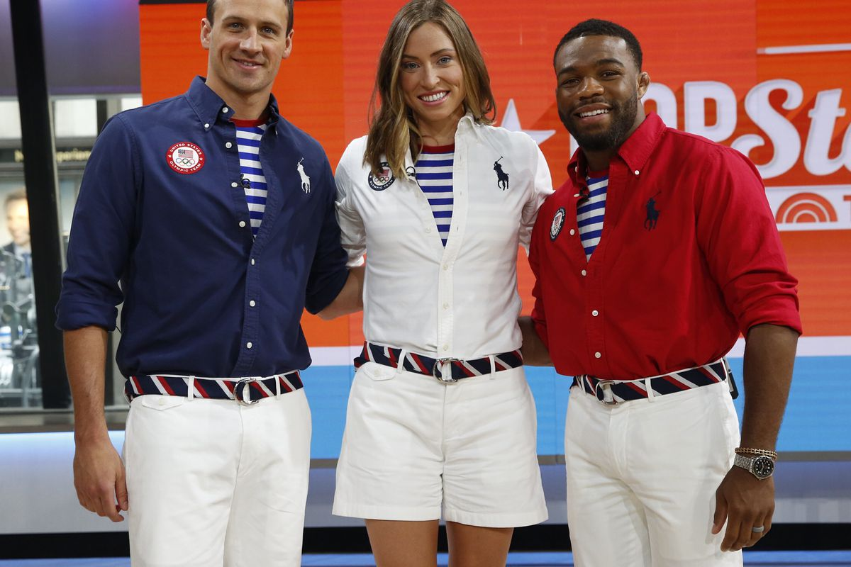 I Need More From Team Usas Olympic Uniforms Racked