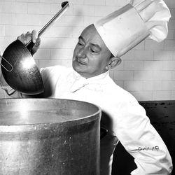 Chef at Hotel Utah.