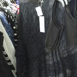 Tortoise shell jacquard dress, $95 (was $475)