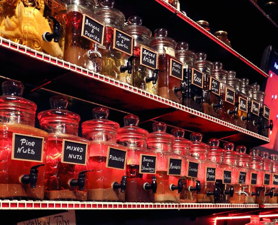 Infused vodkas from Russian House