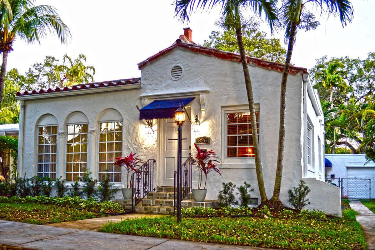 Cunning Old Spanish Home In Coral Gables For 599k
