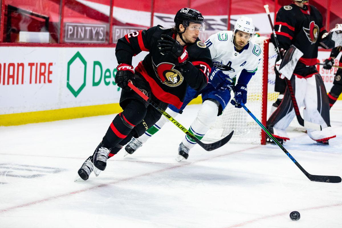 NHL: APR 28 Canucks at Senators