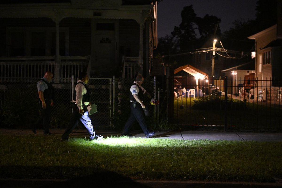 Five men were shot July 25, 2021 in Austin.