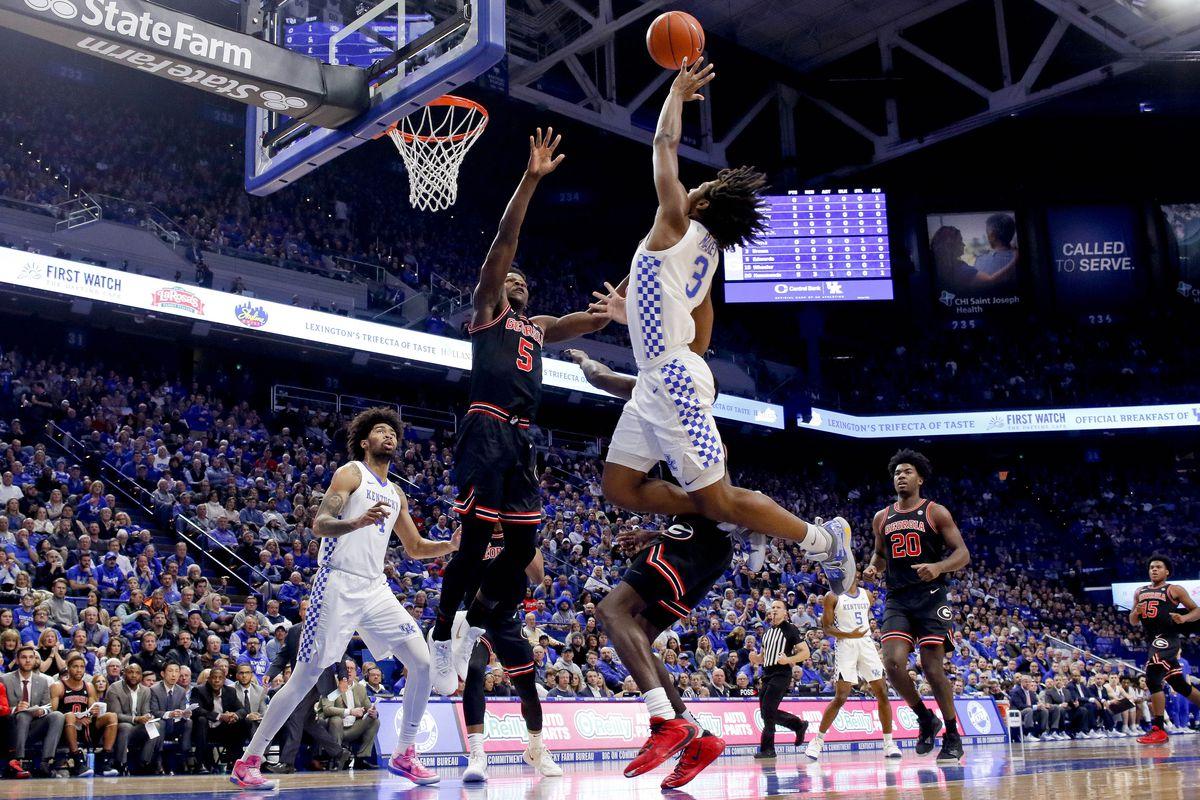 NCAA Basketball: Georgia at Kentucky