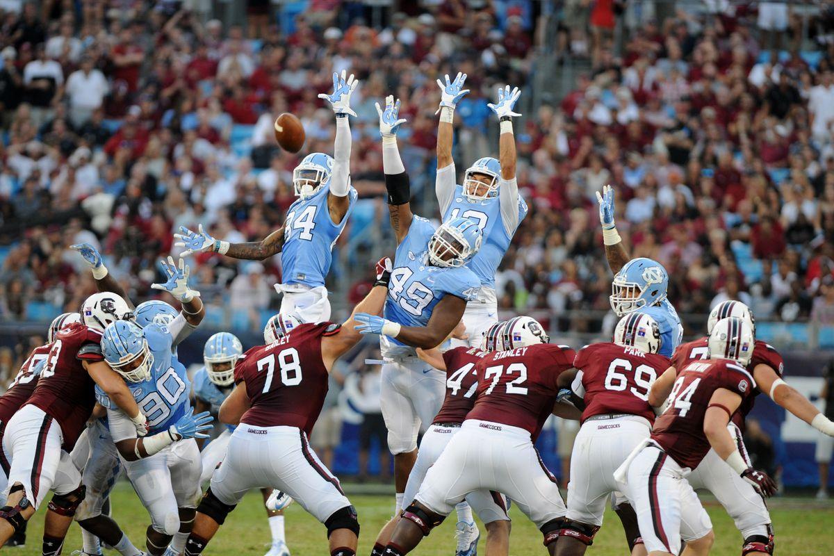 NCAA FOOTBALL: SEP 03 Belk College Kickoff - North Carolina v South Carolina