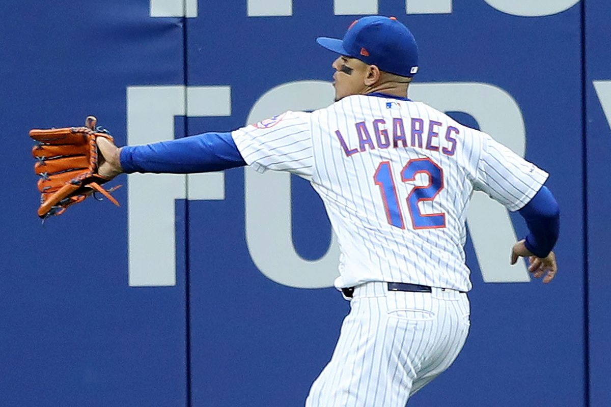 The Mets have a center field problem with Lagares, Nimmo, and Gomez