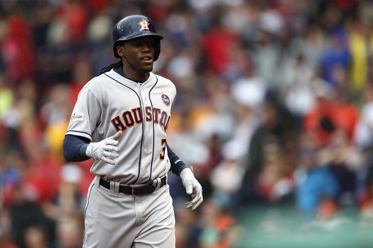 Free tacos after Astros' Cameron Maybin steals a base in World Series