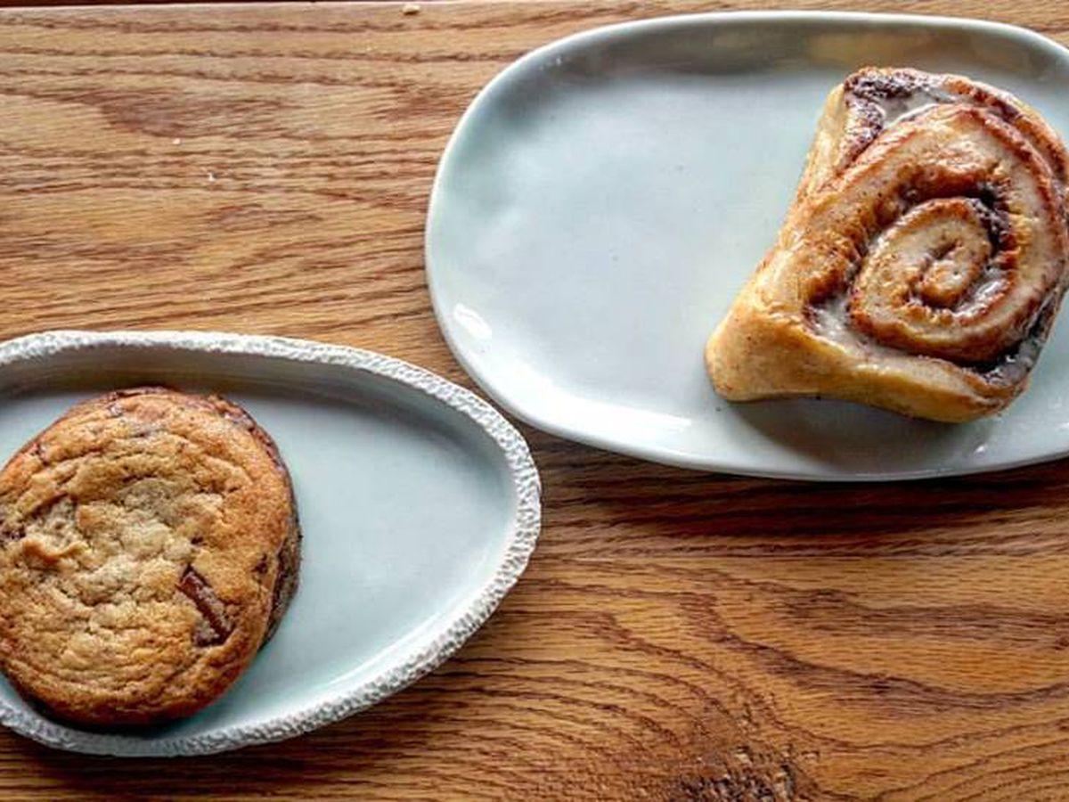 Pastries at Loyal Nine