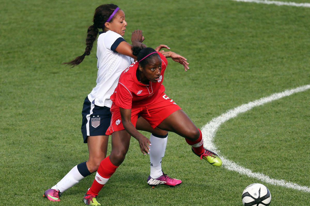 That was Sydney Leroux's week in the NWSL summed up. You're welcome.