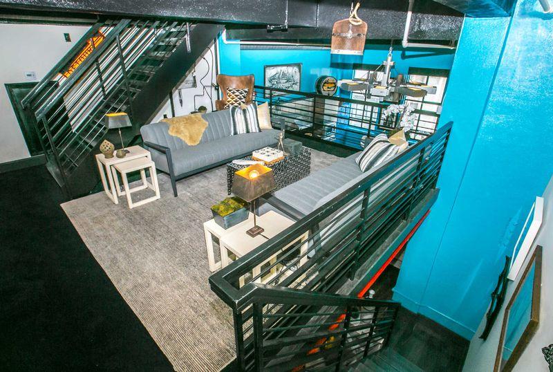Depp penthouse mezzanine