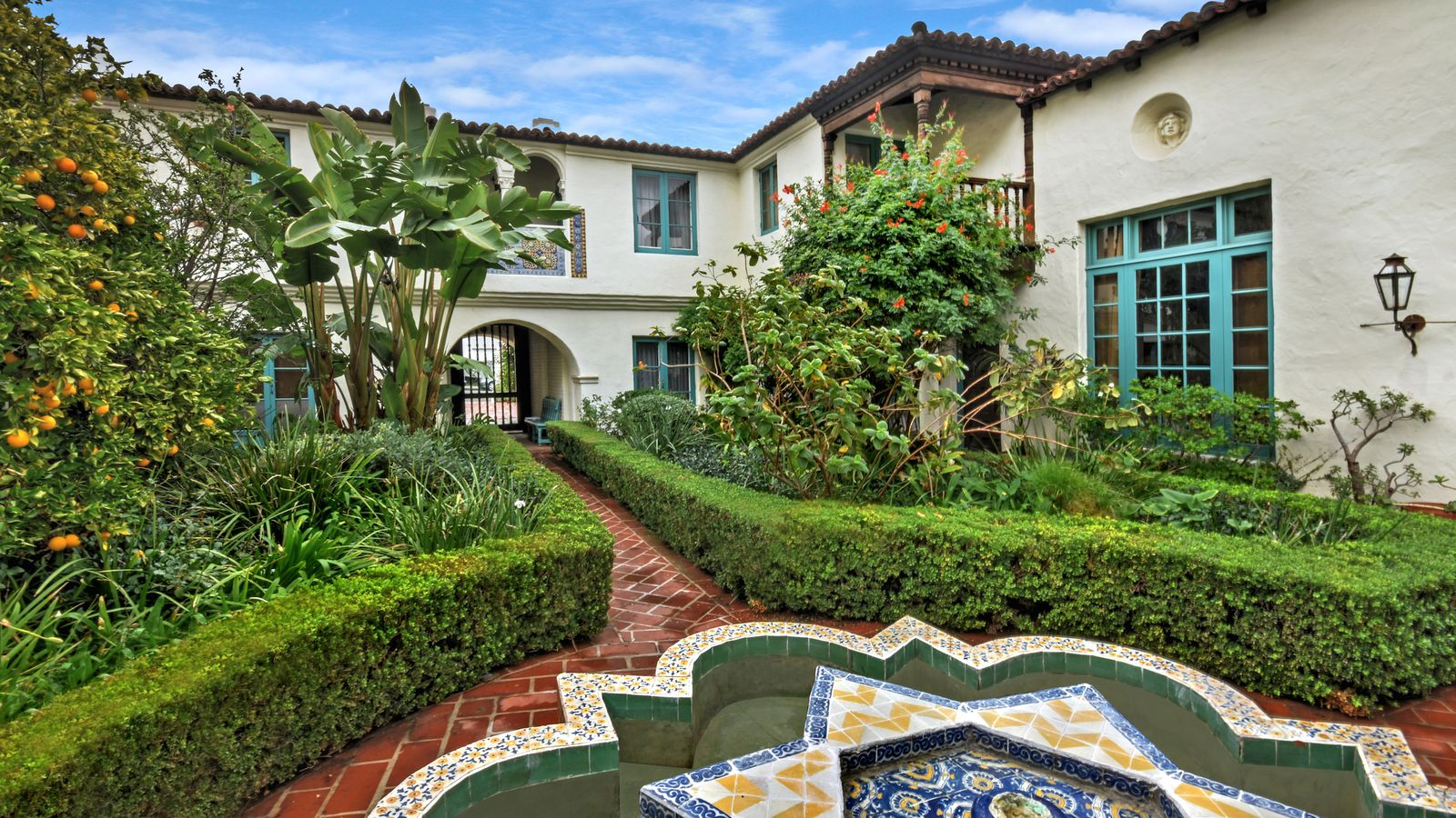 For 1 65m A Condo In Historic Spanish Revival Courtyard