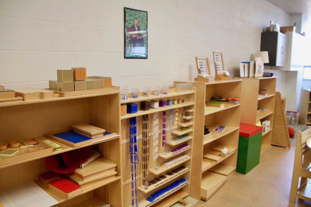 Cole's Montessori classroom