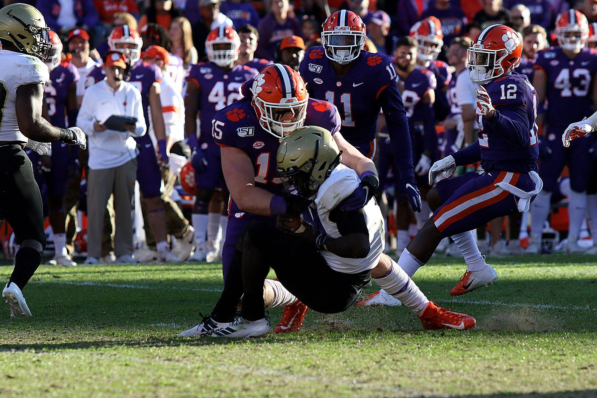 Wofford At Clemson 2nd Quarter Review Shakin The Southland