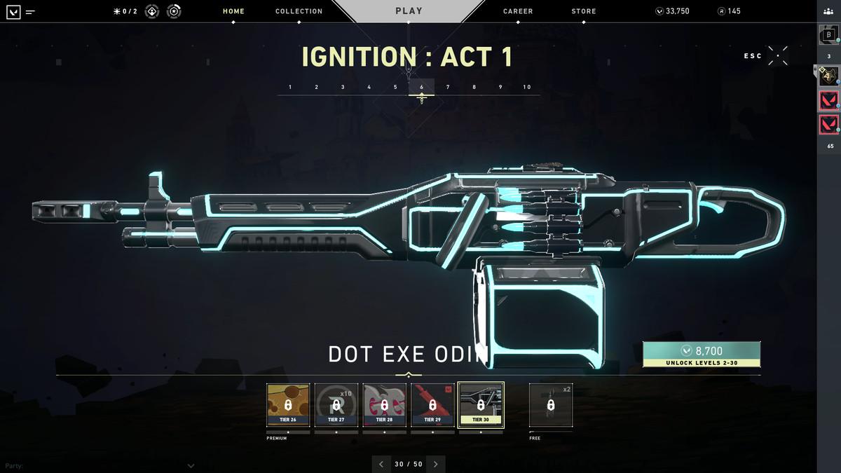 Valorant's Dot Exe Odin skin