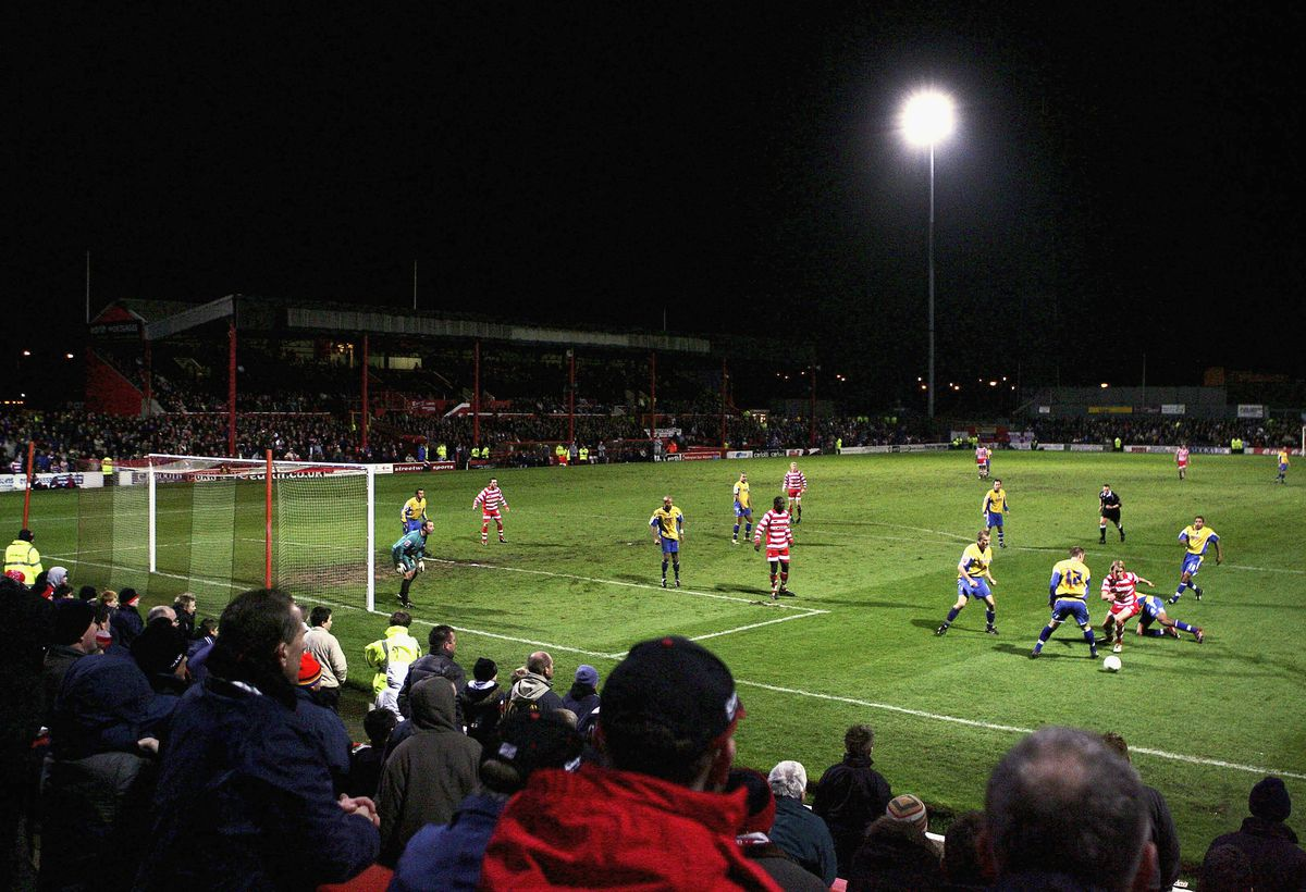 FA Cup: Doncaster Rovers v Mansfield Town