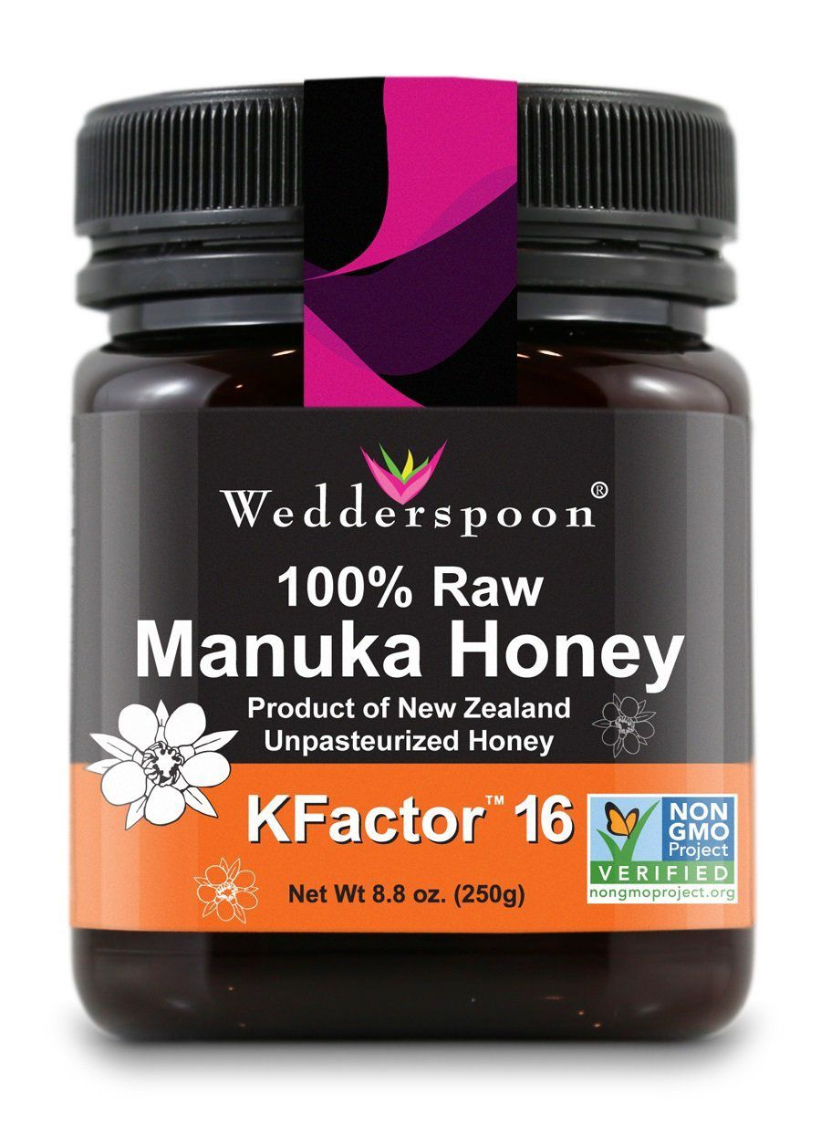 Wedderspoon 100% Raw Premium Manuka Honey, $21