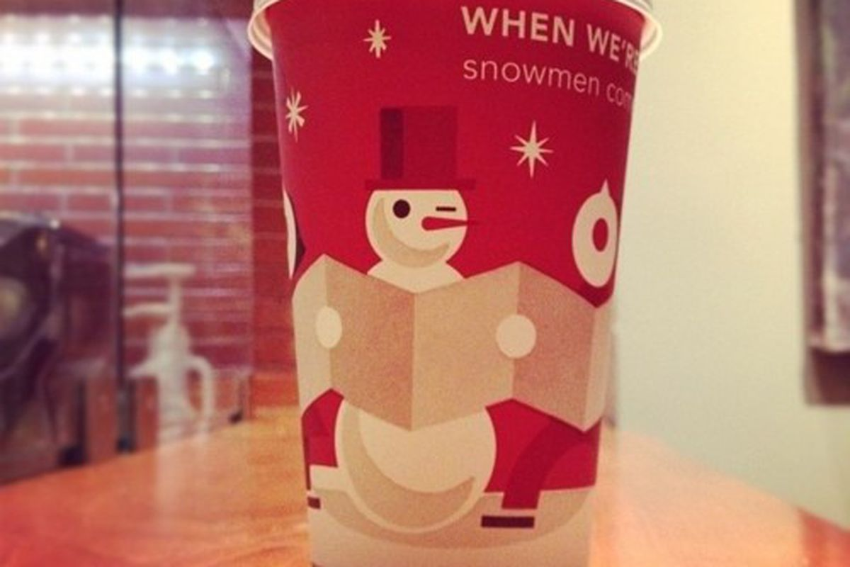 """<em>[Photo: <a href=""""http://weehopper.tumblr.com/post/12193614452/starbucks-christmas-cups-are-out-taken-with"""" rel=""""nofollow"""">weehopper / Instagram</a>]</em>"""