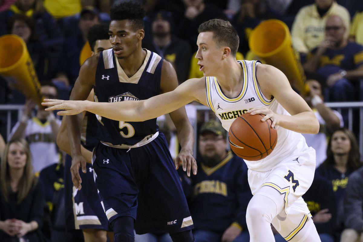 NCAA Basketball: Mount St. Mary's at Michigan
