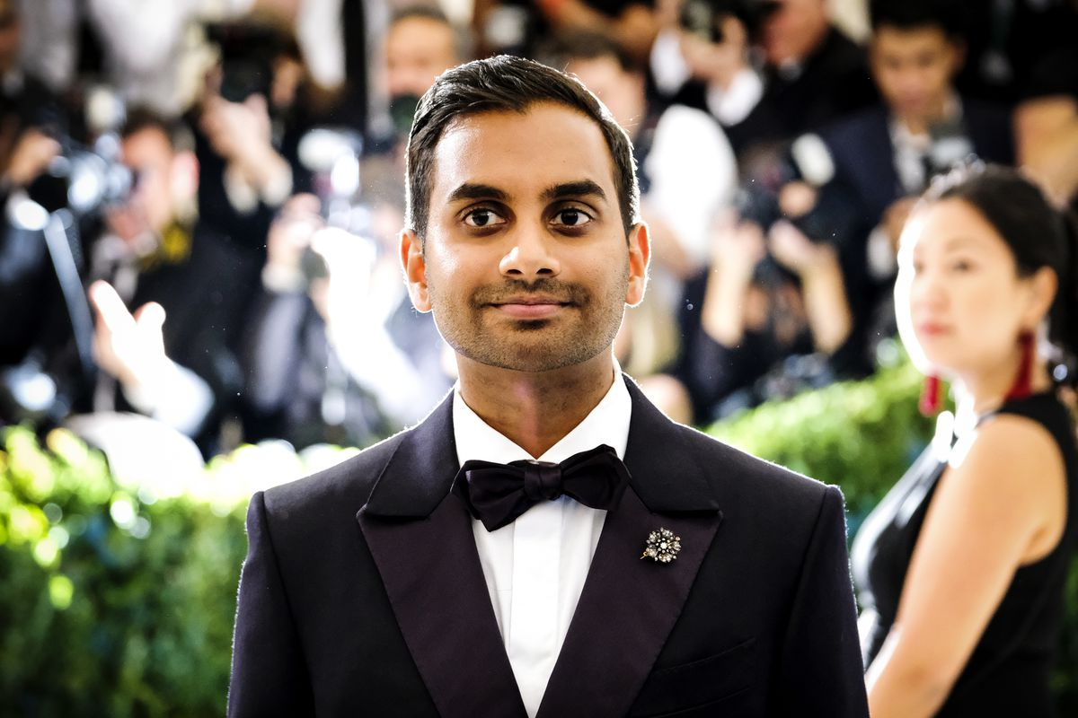 Babes aziz ansari story and the controversy around it aziz ansari attends the metropolitan museum of arts costume institute benefit gala on monday may 1 2017 charles sykesinvisionap charles stopboris