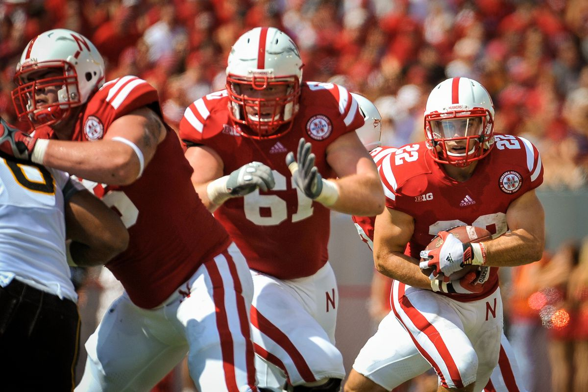 Spencer Long - could be set to be Nebraska's first All-America lineman in quite a while.