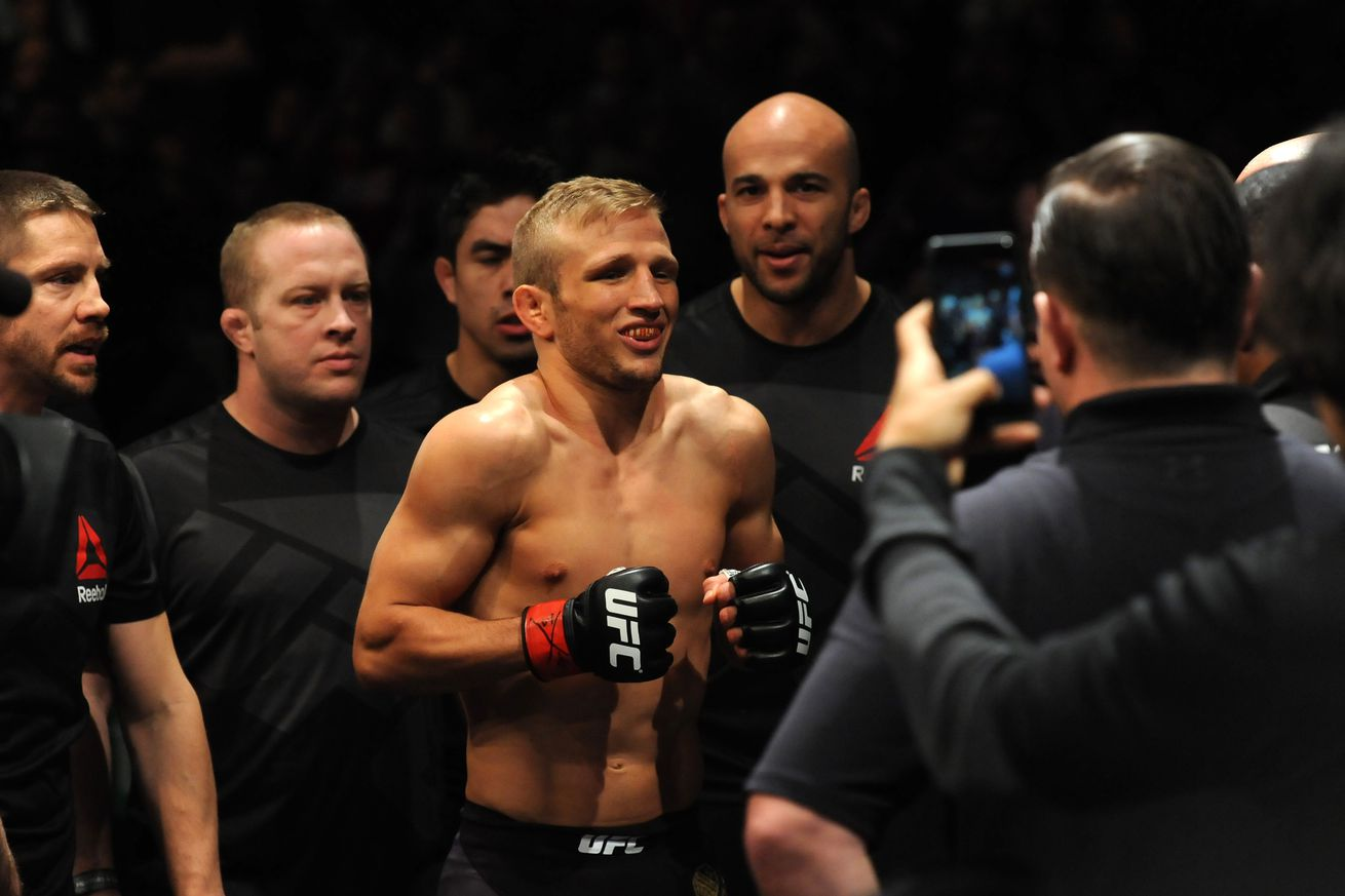 Dominick Cruz has some words for his rival TJ Dillashaw