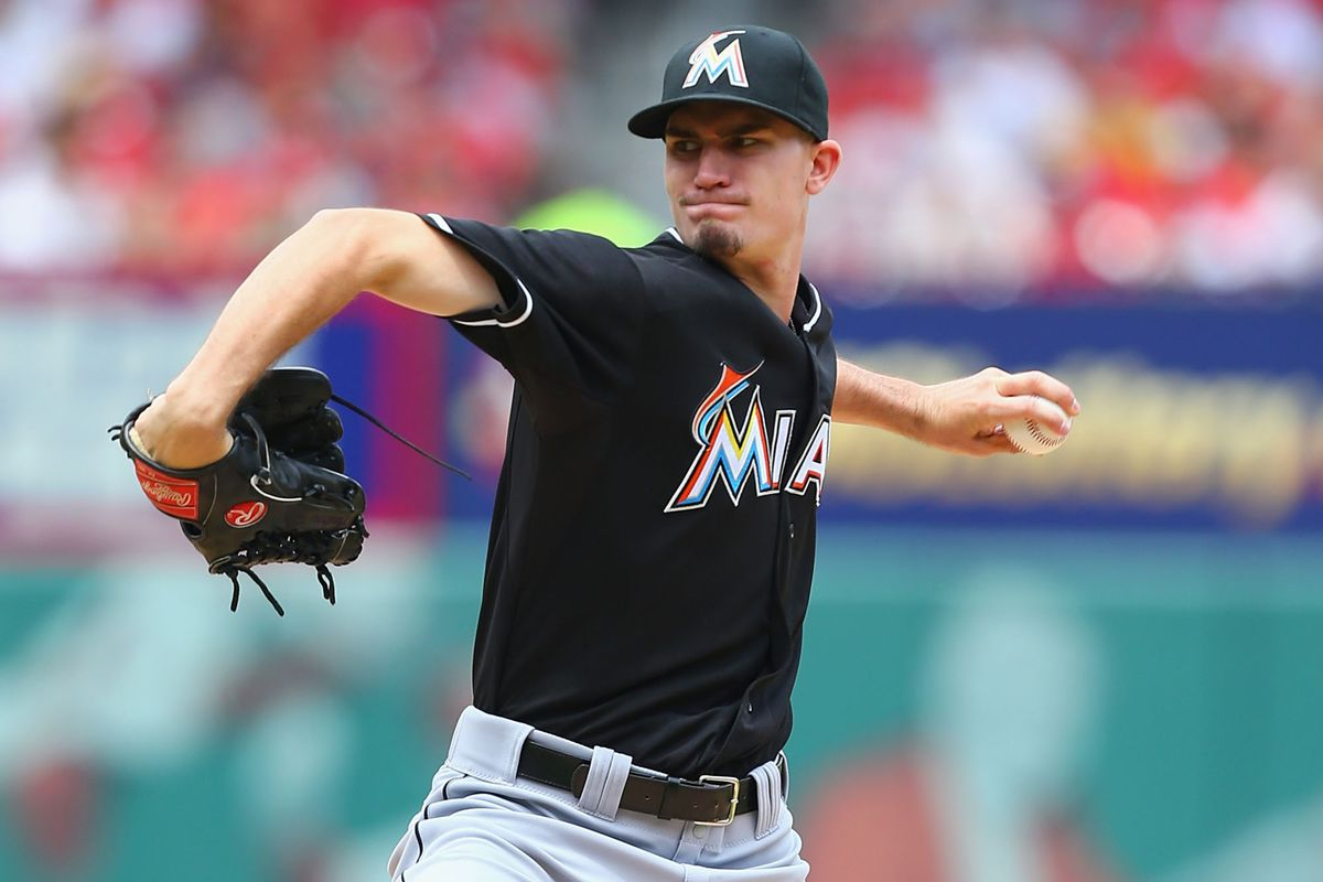 Does Andrew Heaney fit the mold of the Marlins' zone-pounding pitcher?