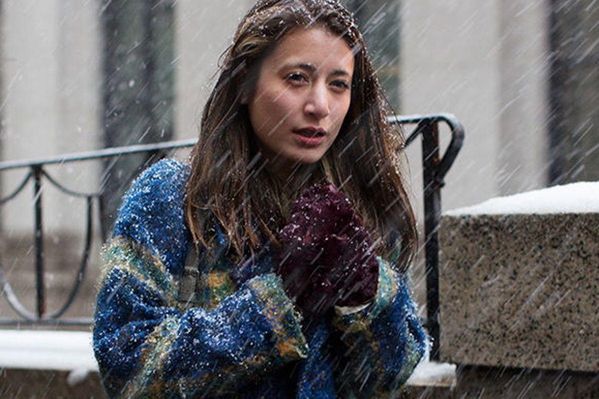 "Photo via <a href=""http://www.thesartorialist.com/photos/on-the-street-snow-day-new-york/"">The Sartorialist</a>"