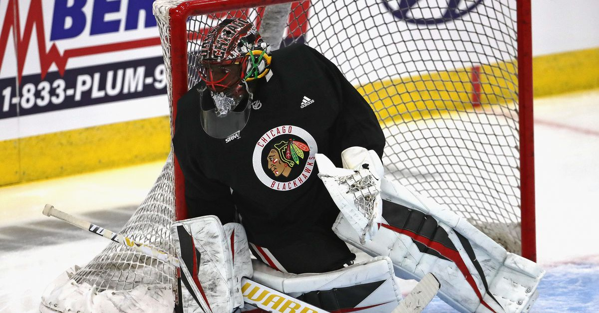 Malcolm Subban ready to start for Blackhawks vs. Oilers if Corey Crawford can't thumbnail