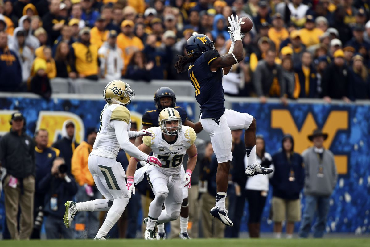 Kevin White has been the Mountaineers leading receiver.