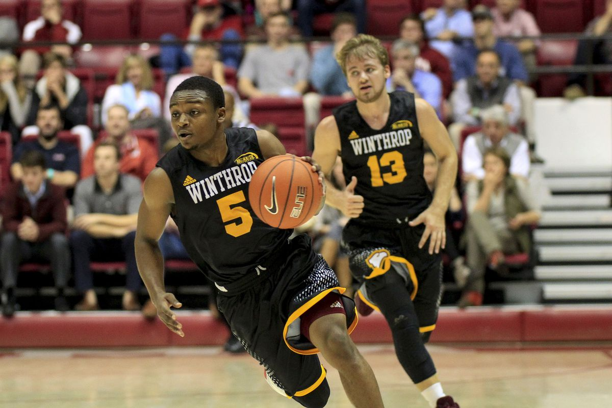 NCAA Basketball: Winthrop at Alabama