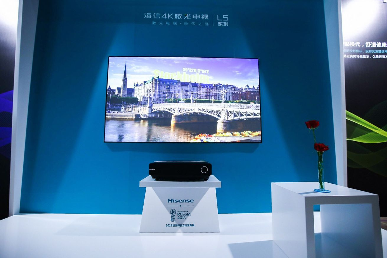 hisense releases a dramatically cheaper 80 inch laser tv