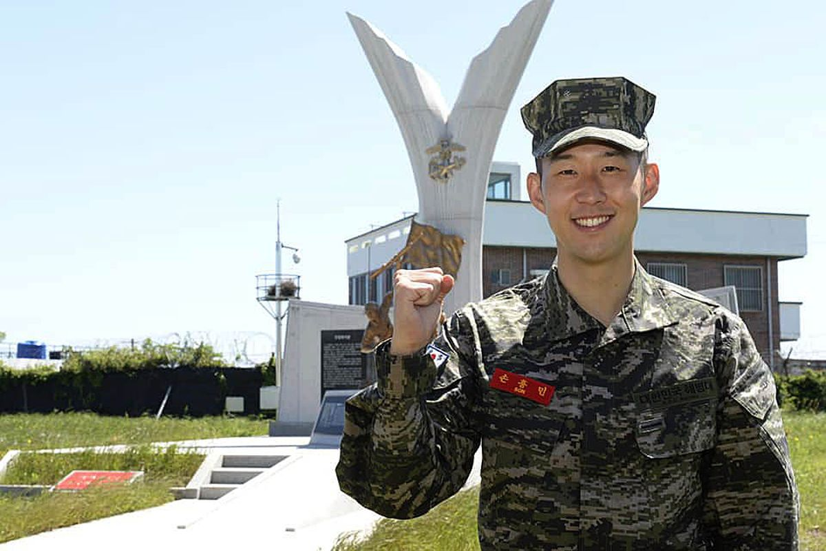 Son Heung-Min Completes Military Training