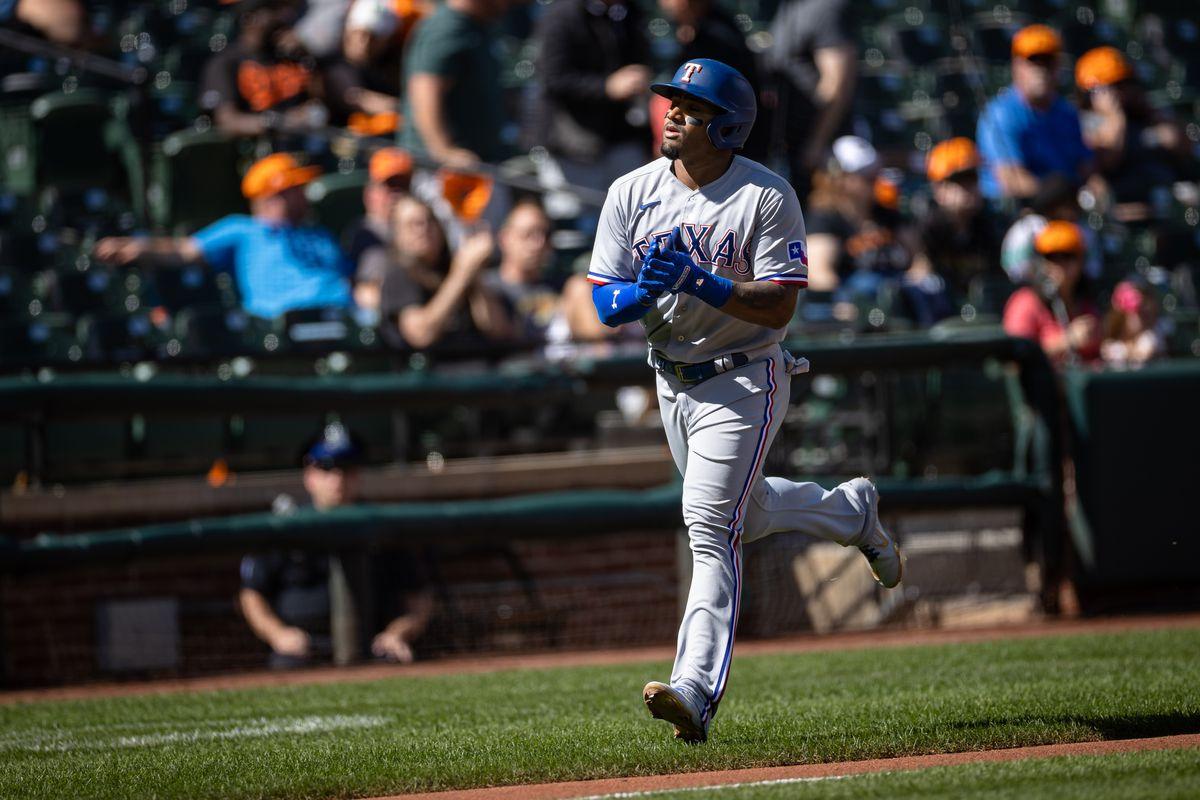 MLB: Texas Rangers at Baltimore Orioles