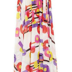 """<a href=""""http://www.theoutnet.com/product/267298""""> Just Cavalli printed cotton wrap skirt</a>, $261 theoutnet.com"""