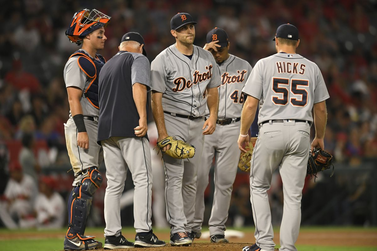 Detroit Tigers v Los Angeles Angels of Anaheim