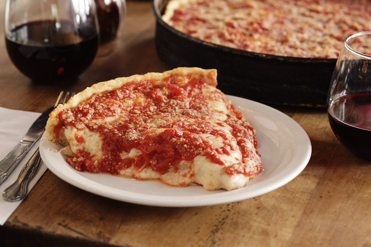 Lou Malnati's has been serving up deep dish pizza in Chicago for 50 years.