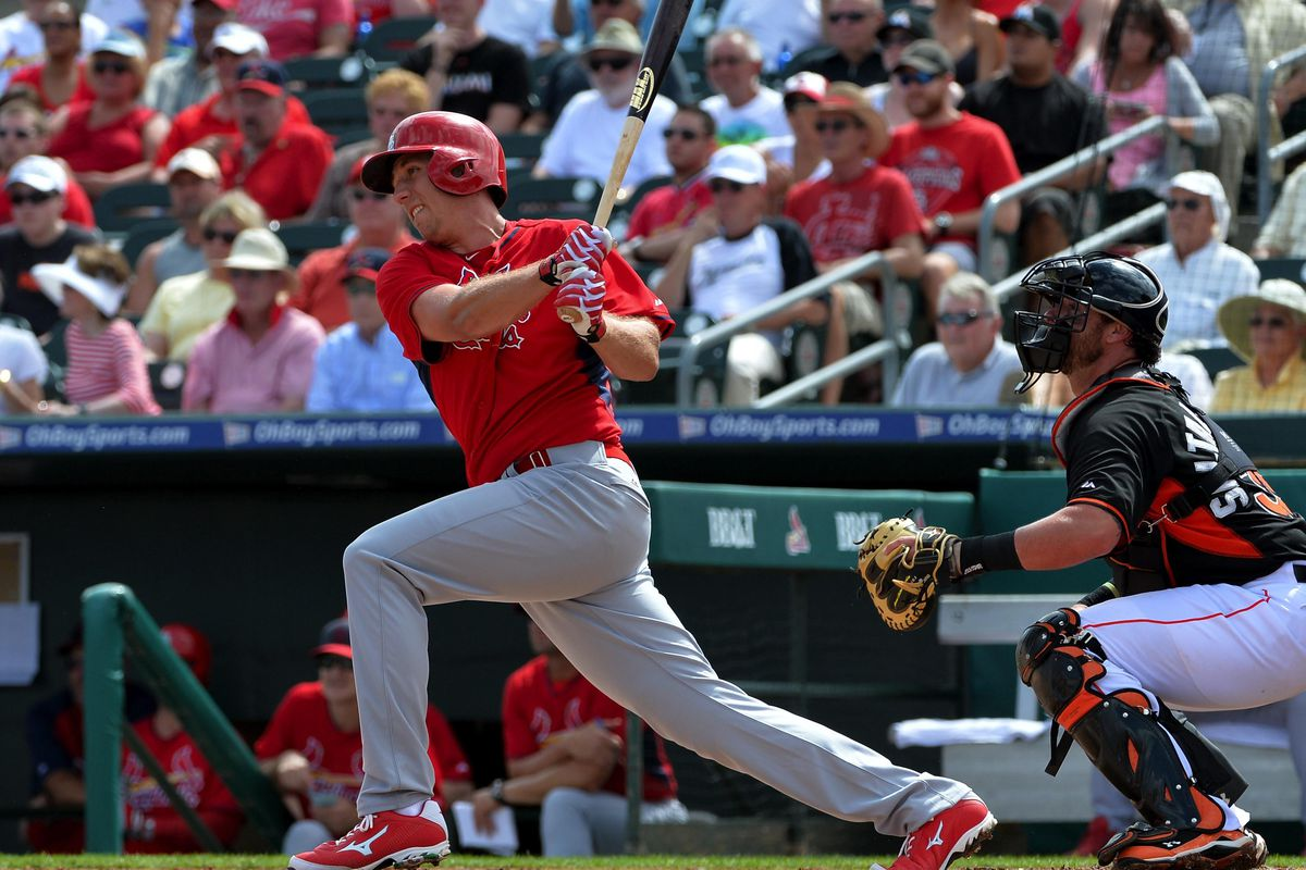 Stephen Piscotty, possible best first base option for the St. Louis Cardinals.