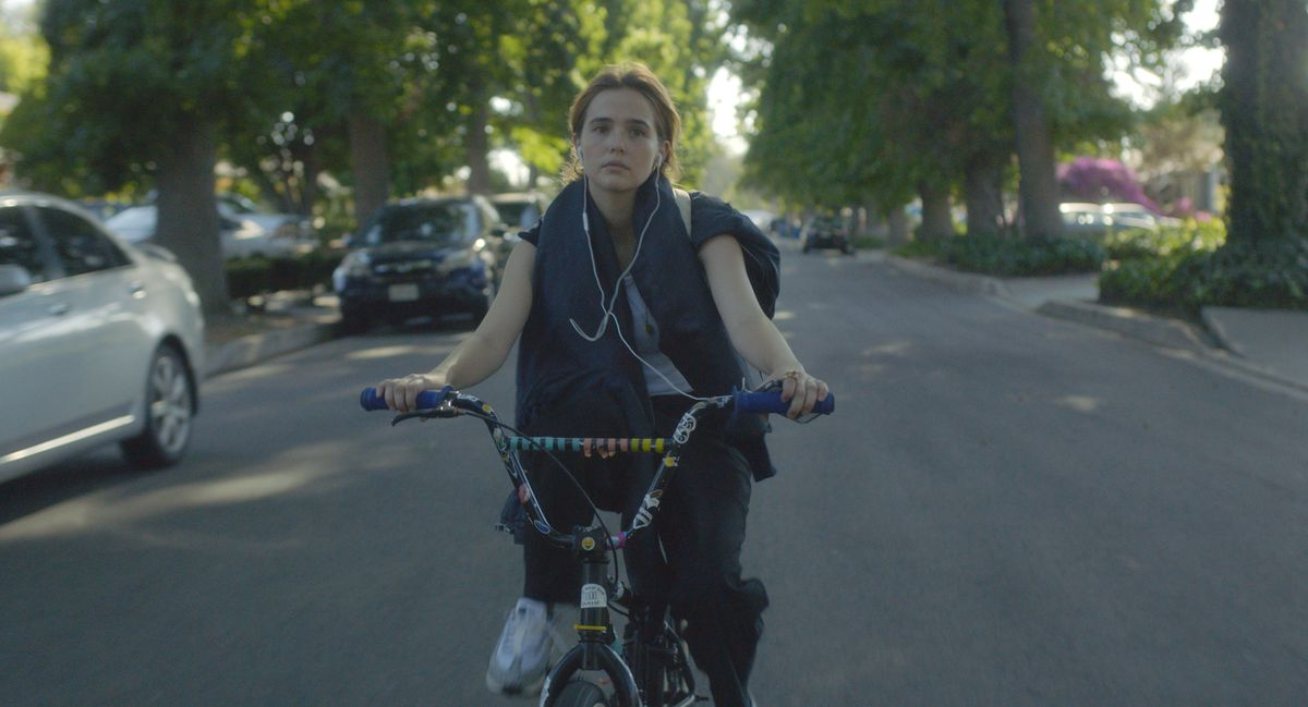 """Zoey Deutch in a scene from """"Flower.""""   The Orchard"""