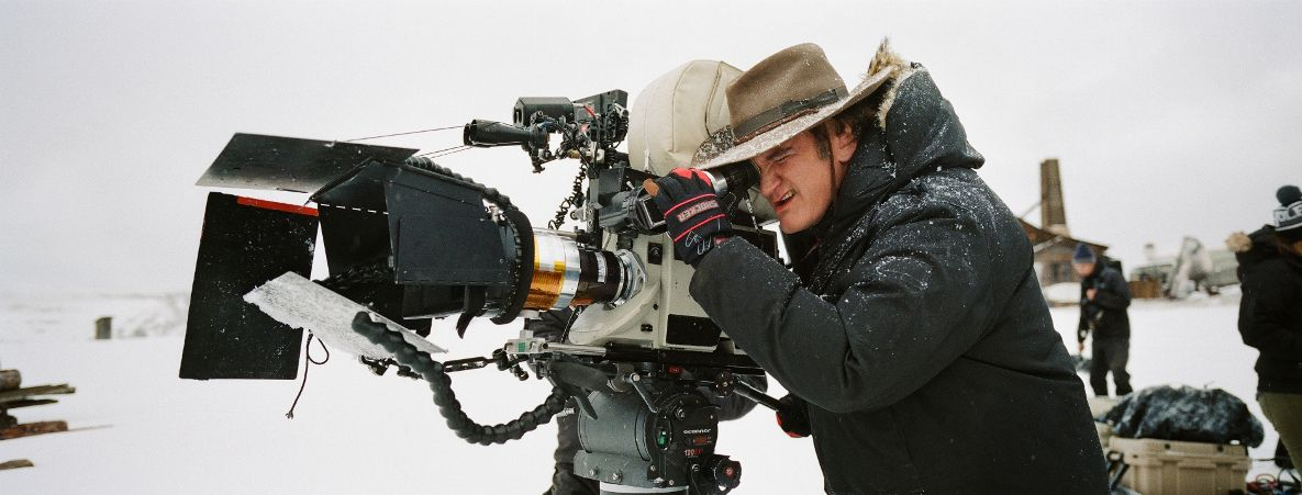 Quentin Tarantino directs The Hateful Eight.