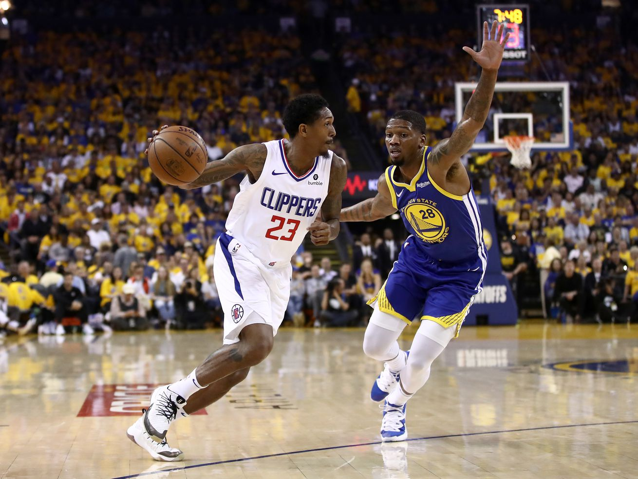 7fe9d0c735db The sixth man extraordinaire took over Wednesday s Game 5 as a scrappy  Clippers team beat the defending champs for a second time in the series