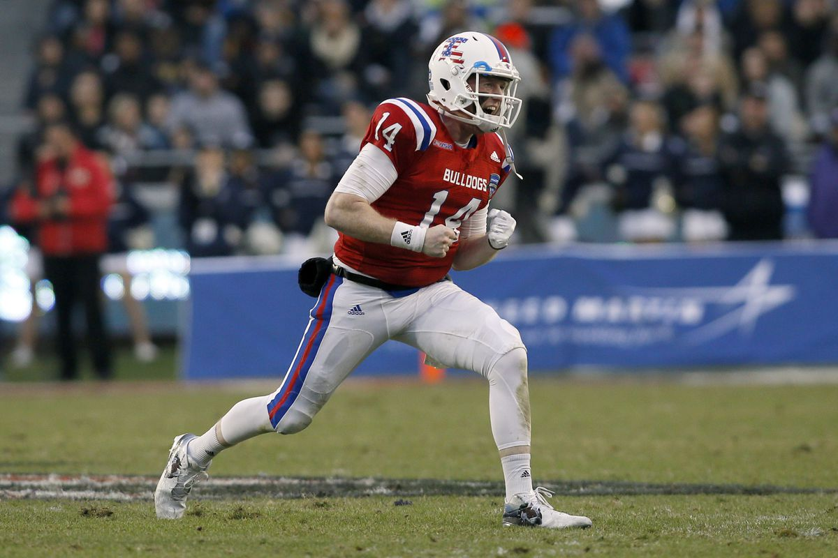 4d6540378 2016 Armed Forces Bowl final score  Louisiana Tech edges Navy in a thriller