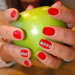 """<a href=""""http://www.karynraw.com/Outer-Beauty-Services/"""">Karyn's Inner Beauty Center</a> [1901 North Halsted Street] offers holistic nail treatments that detoxify the skin while they spruce up the nails. Technicians use Karyn's chemical-free Miracle nail"""