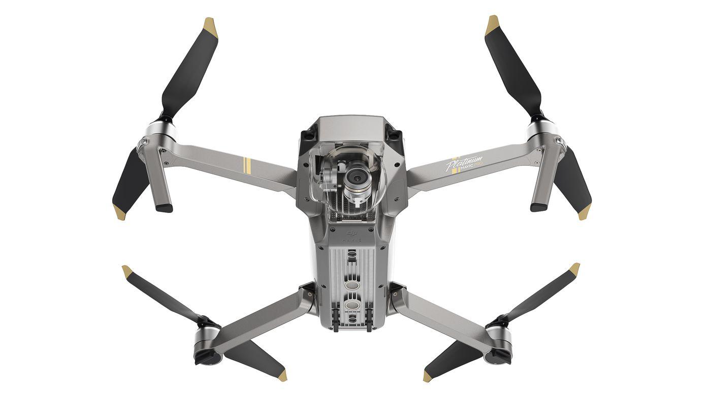 DJI's new Mavic Pro Platinum drone is unbelievably quiet - The Verge