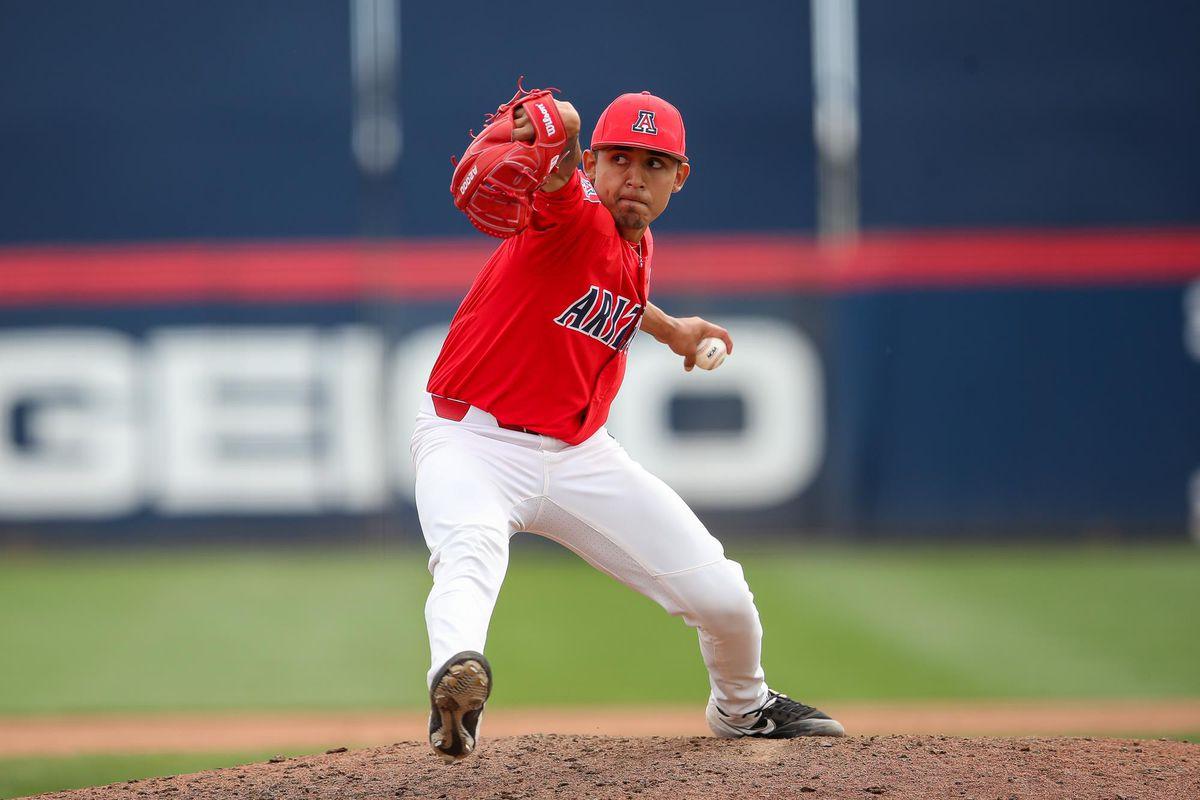 arizona-wildcats-gil-luna-pitcher-chicago-white-sox-2021-mlb-draft-yeskie-suspension-abshier