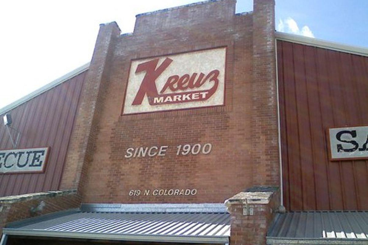Kreuz Market in Lockhart, TX.